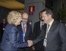 Ильсур Метшин встретился с мэром Мадрида Мануэлой Карменой Кастрильо