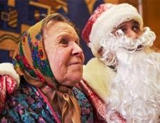 В Казани продолжается сбор подарков для домов престарелых